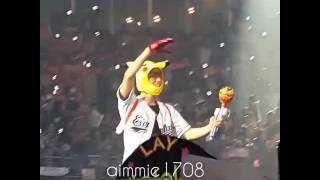 Pikachu Byun Baekhyun exo'rdium in bkk