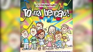 CD TO NA BENÇÃO 1 MÚSICA NÃO IMPORTA - CD MÚSICA INFANTIL
