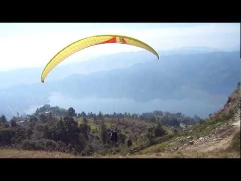 Paragliding @ Pokhara, Nepal!!!