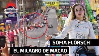 😱EL ACCIDENTE DE SOFIA FLÖRSCH EN MACAO: SE SALVÓ DE MILAGRO