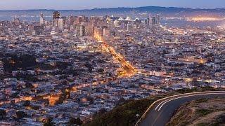 San Francisco Skyline in 4K with Samsung NX1