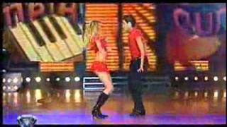 Showmatch 2007 - Liz brilló con la cumbia