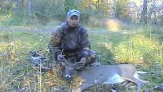 Deer Hunting, Jason Cue bow hunts WV