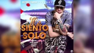 Me Siento Solo - Endo (Prod. By Little Gineuz, Jan Paul, Hebreo)