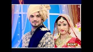 Deep Arohi enjoying their wedding in Ishq Mein Marjawan