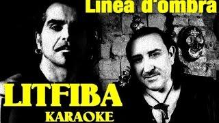 Linea d'ombra Litfiba karaoke cover Andrea Monterosso con testo base musicale instrumental