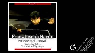 Miyanoya conducts Haydn Symphony No.45