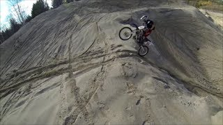 3 Honda CR's, Sand Hill Climbs HD!