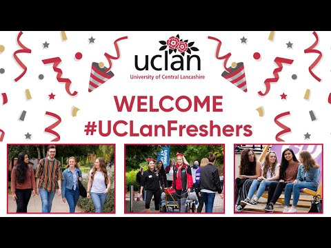 #UCLanFreshers Week 2019