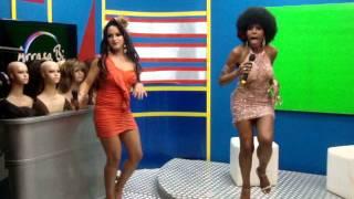 Cover Elza Soares Trans Aloma drag queen Tchaka é fã.MPG