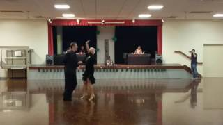 Bachata  - Joy Malane & John Marinos NYB Gold Star 30 April 2016