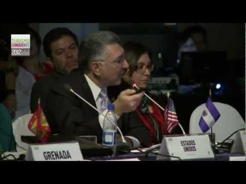 Turismo Consciente 2012, Ecuador,Informe Sobre la Situación Turística ama sesión, OEA