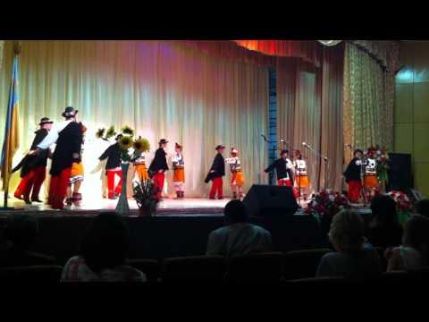Hutsul Folk Dance at Day of Knowledge Celebration Precarpathian National University 2011