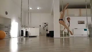 Pole Dance Choreography - Gemini Feed (Beginner/Intermediate)