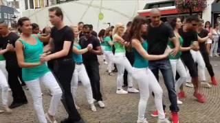 Flash Mob de Kizomba em Utrecht - Holanda