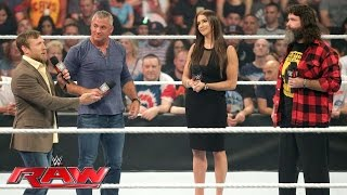 The Raw and SmackDown Live General Managers are revealed: Raw, July 18, 2016