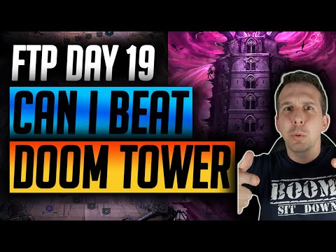 FTP Day 19 DOOM TOWER UNLOCKED! MASSIVE PROGRESSION! | Raid: Shadow Legends