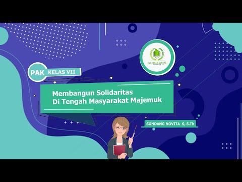 PAK - Membangun Solidaritas Di Tengah Masyarakat