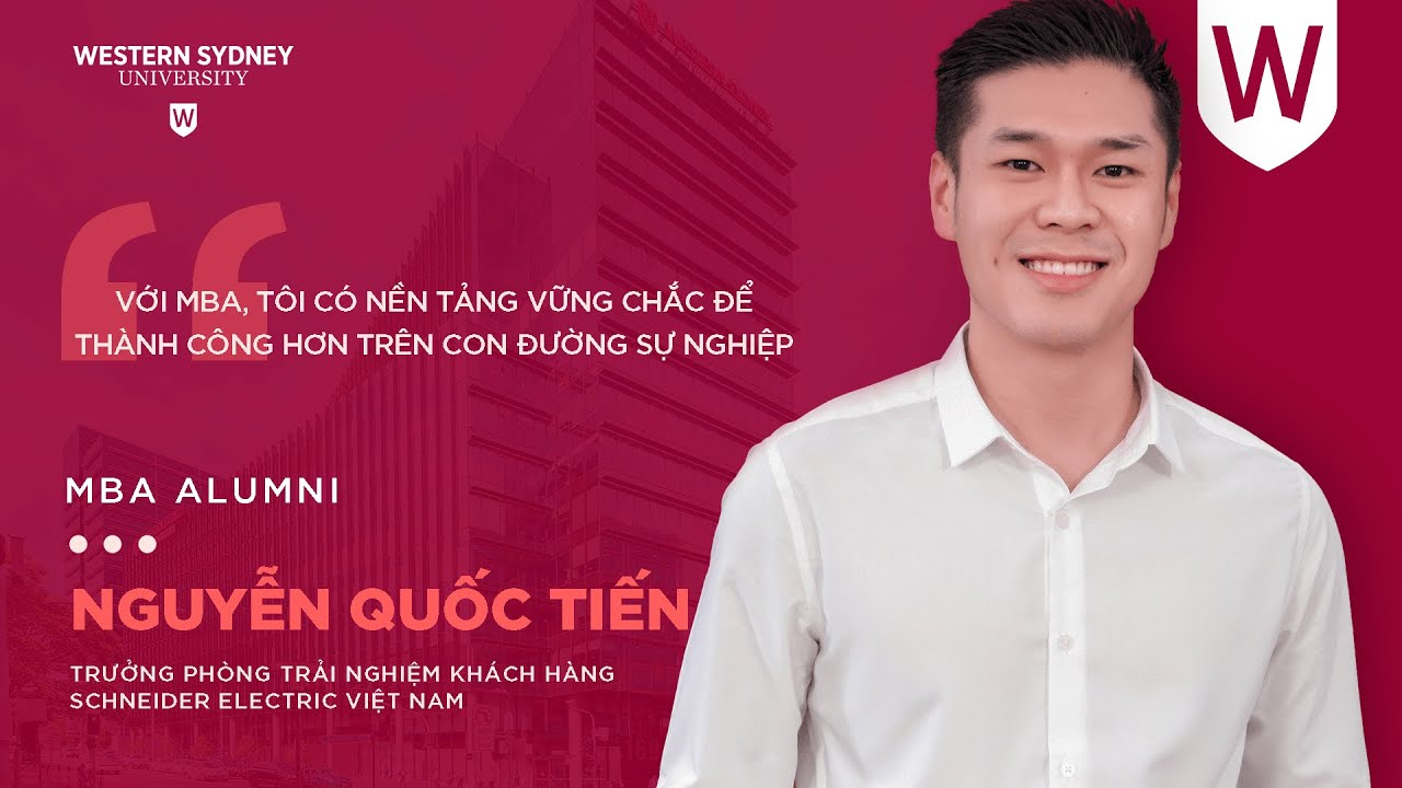 Nguyễn Quốc Tiến – Country Digital Customer Experience Lead tại Schneider Electric Việt Nam | MBA Alumni