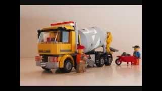 Lego City 2013 - #60018 Cementbil!