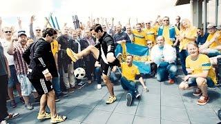 SkillTwins & Betsafe Ultimate Euro 16 Football Experience - EPIC SKILLS & PANNAS