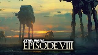 """Star Wars Episode 8 - New """"Gorilla"""" AT-AT's Are HUGE!  (The Last Jedi)"""