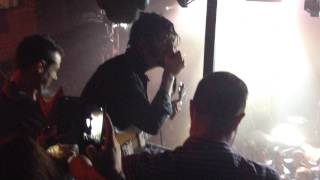 Reignwolf on the Troubadour balcony (Los Angeles 8/13/14)