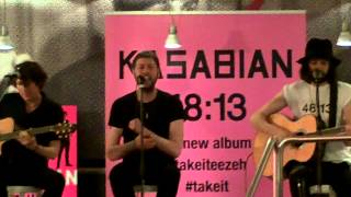 "Kasabian - ""Stevie"" - live acoustic session @LaFeltrinelli, Milan 10.06.2014"
