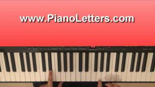 How To Play Telling the World -  Taio Cruz On Piano Tutorial
