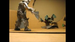 TMNT VS SHREDDER STOP MOTION