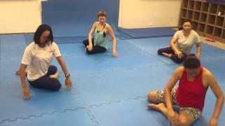 Pilates solo coreografado- SESC CAMILO BONI (Serie iniciante)