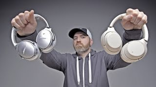 The Best Noise Cancelling Headphones... Bose or Sony? width=