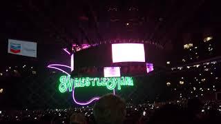 WWE Wrestlemania 34 Grand Opening with pyro | Wrestlemania 2018 opening HD