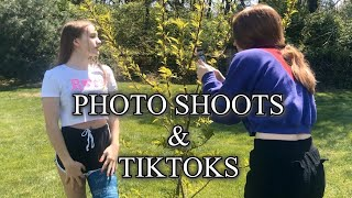 Photo Shoots and Tiktok With a Broken Leg/Rhoadsoflife