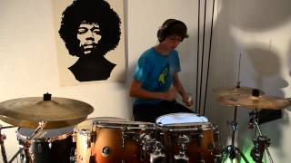 Drum Cover #3: Bon Jovi it's my life [Full-HD]