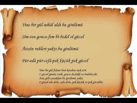 Şarkı,Yine Bir Gülnihal  [by YouTube impahasan]
