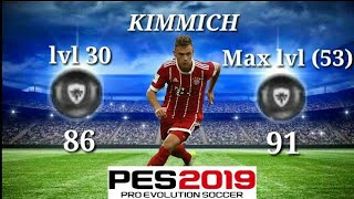 All Future Black Ball Ratings - 30 Level and Max Level Ratings - PES 2019 Mobile
