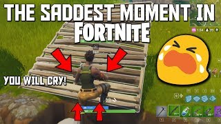 The Saddest Moment In Fortnite (You Will Cry!)