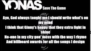 Yonas - Save The Game Lyrics