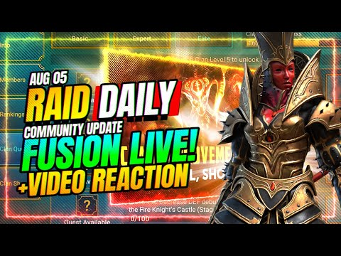 ✅Fusion is LIVE! Why Their Vid Is Getting RATIO'D?! | RAID Shadow Legends