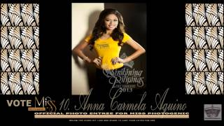 Binibini 10. Anna Carmela Aquino Official Photo entree for Miss Photogenic