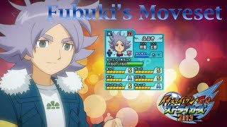 Fubuki's Moveset In Inazuma Eleven Go Strikers 2013