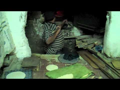 Baking Bread in Fes, Morocco