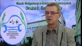 Ing. Karol Kisantal - riaditeľ   SOŠT a AP Rimavská Sobota