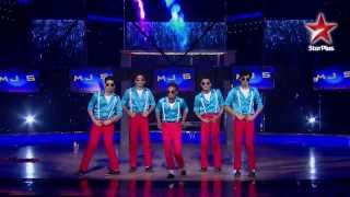 India's Dancing SuperStar   Ep 21   MJ5's wonderful dance performance   YouTube width=