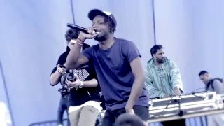 Isaiah Rashad - Shot You Down Live @ (Nickerson Gardens Free Concert Presented By TDE!!!)12/22/15