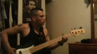Tiger Army pain bass cover