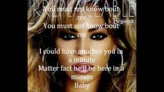 Beyonce-Irreplaceable-Lyrics
