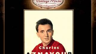CHARLES AZNAVOUR CD Vintage French Song. Ay Mourir Pour Toi, Pour Faire Une Jam