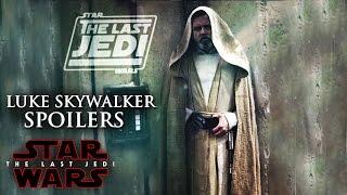 Star Wars The Last Jedi Spoilers Of Luke Skywalker (NEW) Luke's Clochan!